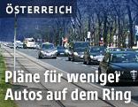 Autoverkehr auf dem Wiener Ring