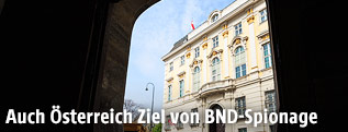 Bundeskanzleramt in Wien