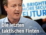 Britische Premierminister David Cameron