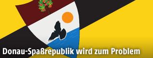 Fahne von Liberland