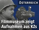 Soldat mit Filmkamera