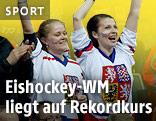 Tschechische Fans bei bei der Eishockey-WM