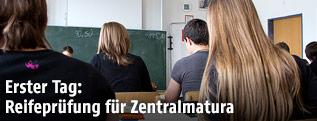 Schüler in einem Gymnasium