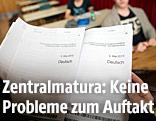 Unterlagen zur Deutsch-Zentralmatura