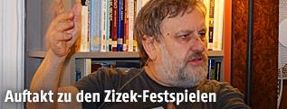 Slowenischer Philosoph, Psychoanalytiker und Kulturtheoretiker Slavoj Zizek