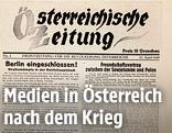 Österreichische Zeitung 1945
