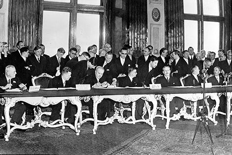 Unterzeichung des Staatsvertrags im Belvedere, 15.05.2015