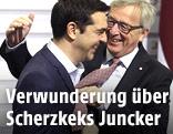 Jean-Claude Juncker und Alexis Tsipras