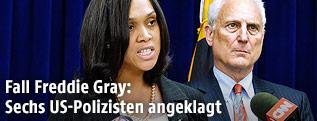 Staatsanwältin von Baltimore, Marilyn Mosby
