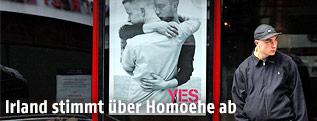 Plakat für die Abstimmung der Homosexuellenehe in Dublin