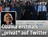 Twitter-Konto von Barack Obama