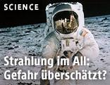 Archivaufnahme von US-Astronaut Edwin Aldrin