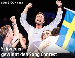 Eindrücke vom Songcontest in Wien