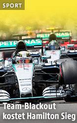 Rennauto von Lewis Hamilton