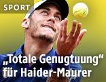 Aufschlag von Andreas Haider-Maurer (AUT)