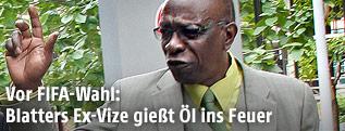 Der ehemalige FIFA-Vizepräsident, Jack Warner