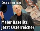 Maler Georg Baselitz