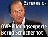 Bildungsexperte Bernd Schilcher
