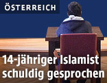 Angeklagter Prozess im Landesgericht St. Pölten