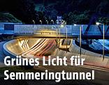 Vorarbeiten zum Semmering-Basistunnel