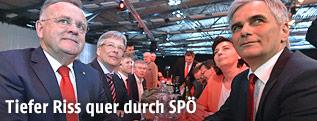 Burgenlands Landeshauptmann Hans Niessl und Bundeskanzler Werner Faymann