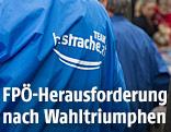FPÖ-Wahlkampfhelfer