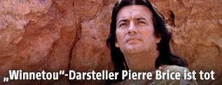 Pierre Brice als Winnetou 1970