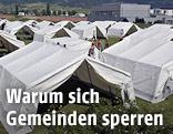 Zelte in Traiskirchen