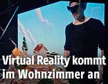 """Präsentation von """"Minecraft for Microsoft HoloLens"""""""