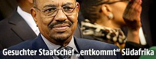 Sudanesischen Staatschef Omar Hassan al-Baschir - sudan_baschir_2q_innen_r.4623928