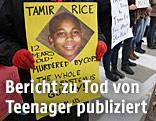 Demonstration nach der Ermordung des Schülers Tamir Rice