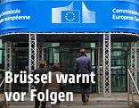 Eingang Europäische Kommission