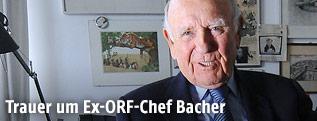 Ex-ORF-Generalintendanten Gerd Bacher