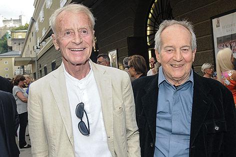 Helmut Lohner und Otto Schenk 2013