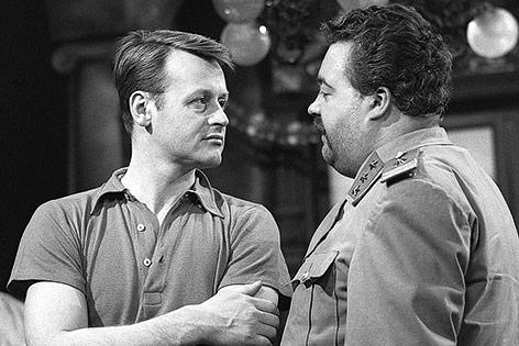 Helmut Lohner und Helmut Qualtinger im Film Samba 1966