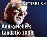 Der österreichische Künstler Andre Heller