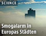 Smog über Skopje