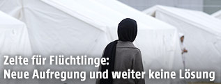 Flüchtlingszelte