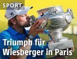 Bernd Wiesberger mit Pokal