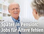Älterer Apotheker