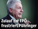 Oberösterreichs Landeshauptmann Josef Pühringer