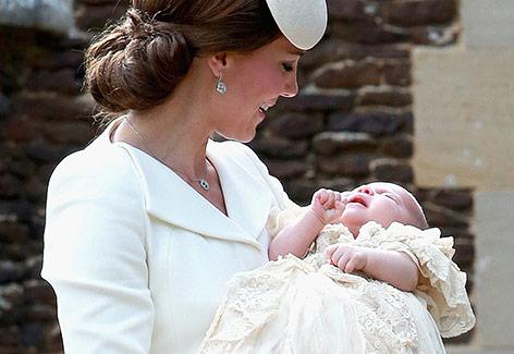 Prinzessin Kate und ihre Tochter Charlotte