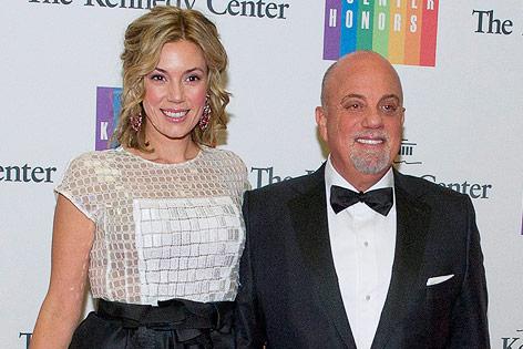 US-Musiker Billy Joel und Alexis Roderick