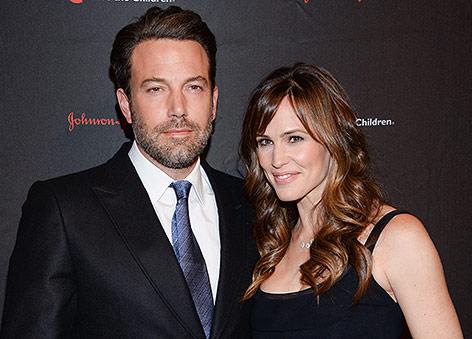 Ben Affleck mit Ehefrau Jennifer Garner