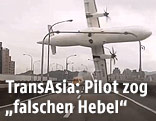 Flugzeugabsturz einer TransAsia-Maschine