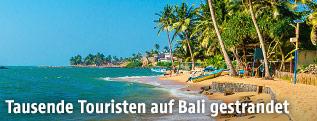 Küstenabschnitt auf der Insel Bali