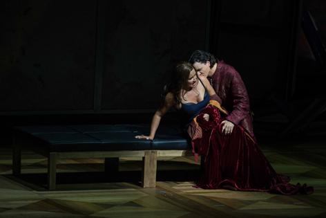 "Szene aus ""Il Trovatore"""