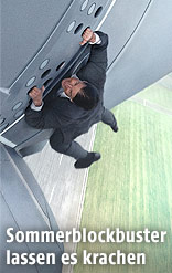 """Tom Cruise in """"Mission Impossible V"""""""