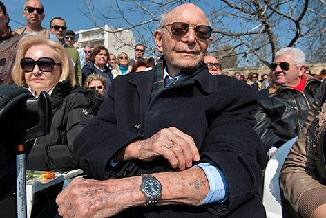 Holocaust-Überlebender Heinz Kounio