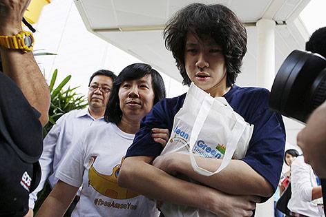 Verurteilter Blogger Amos Yee